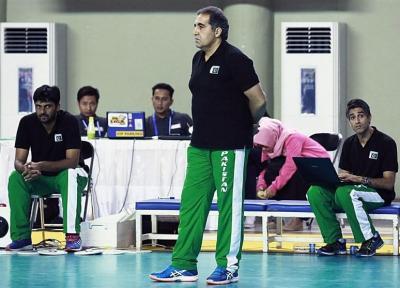 گزارش خبرنگار اعزامی تسنیم از اندونزی، موحدی: بازیکنان پاکستان در ست اول کاملاً ترسیده بودند