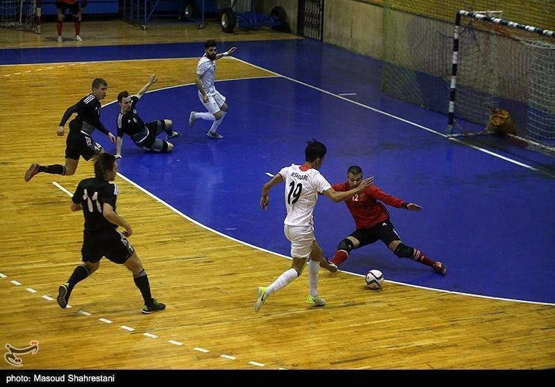 تورنمنت چهارجانبه فوتسال تبریز، سرانجام مسابقات با پیروزی ایران مقابل اوکراین و قهرمانی شاگردان ناظم الشریعه