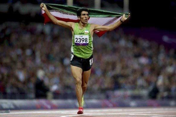 پیمان نصیری مدال طلای 1500 متر را برگردن آویخت