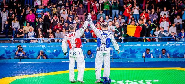 تعیین شدن رقبای ایران در قهرمانی تیمی دنیا تکواندو