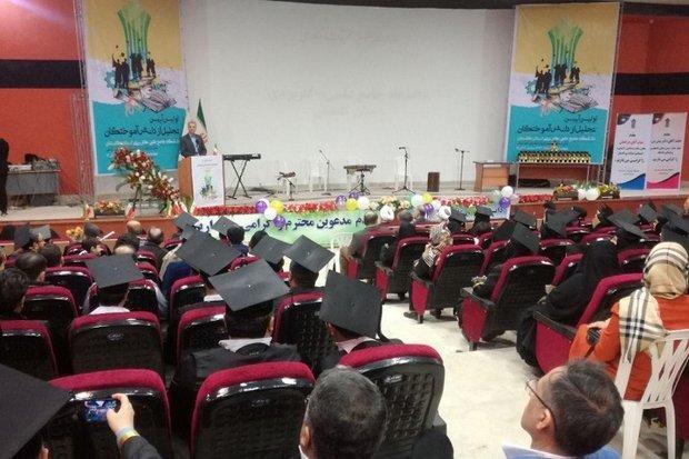 21 هزار نفر از مراکز دانشگاه علمی کاربری گلستان فارغ التحصیل شدند