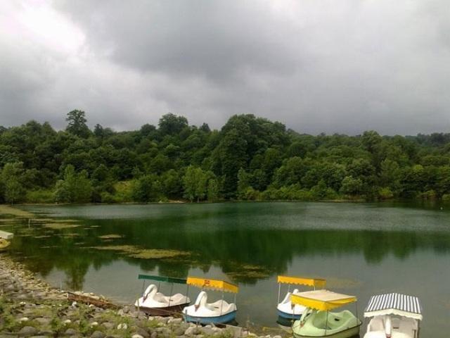 دریاچه الیمالات کجاست ؟ Elimalat Lake