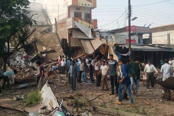 انفجار در هند 12 کشته و 50 زخمی برجا گذاشت