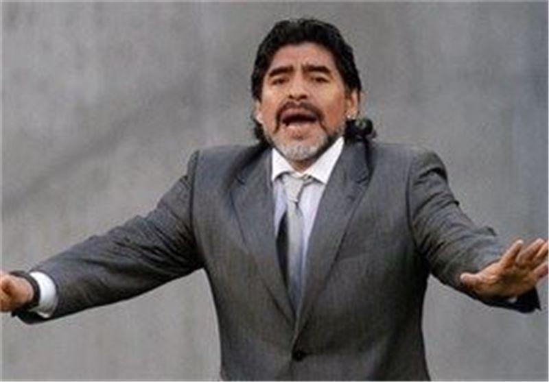 مارادونا: رویایم مربیگری در ناپولی است، یووه کنته مرا یاد یووه میشل پلاتینی می اندازد
