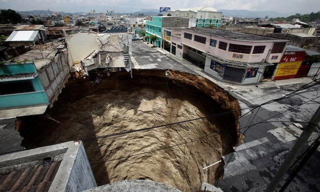 بزرگترین حفره های شهری در نقاط مختلف جهان