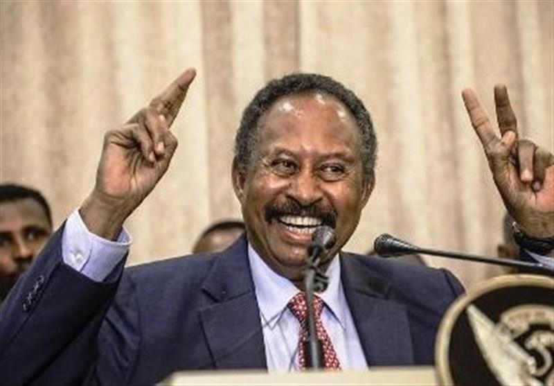 سودان، تشکیل دولت حمدوک، سفر وزیر خارجه فرانسه به خارطوم