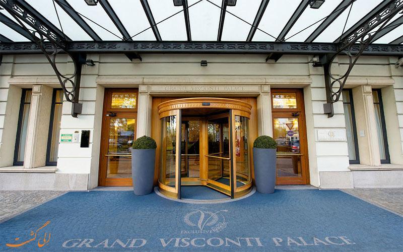 معرفی هتل 4 ستاره گرند ویسکونتی پالاس در میلان