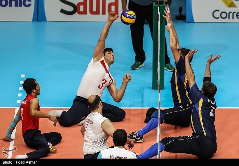 پیروزی یک طرفه تیم مردان ایران مقابل میزبان