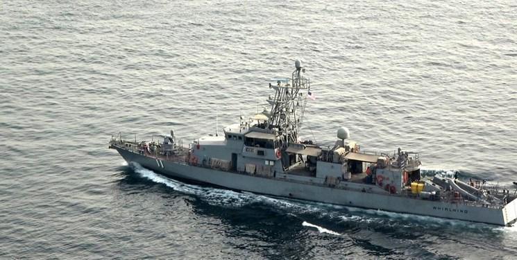ارتش چین کشتی جنگی مزاحم آمریکایی را از قلمروی آبی خود بیرون کرد