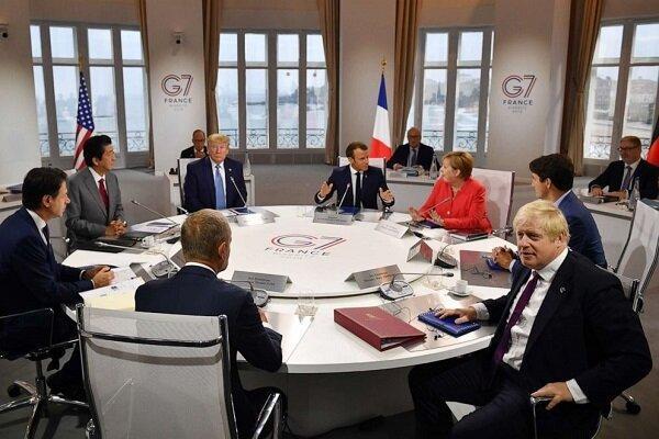 انگلیس و کانادا با بازگشت روسیه به جی7 مخالفت کردند