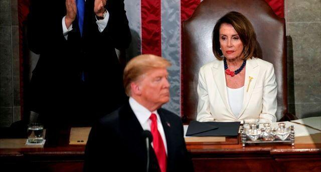 تلاش پلوسی برای استیضاح دوباره ترامپ
