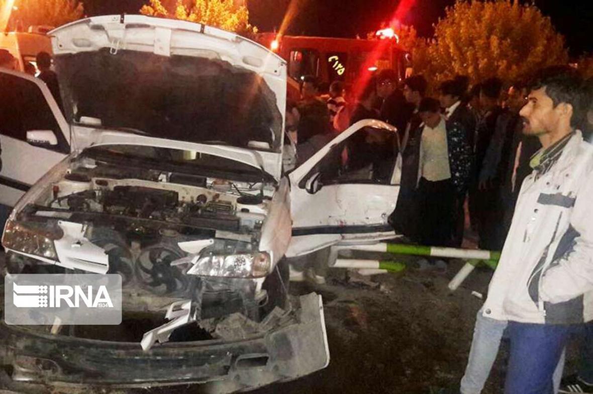 خبرنگاران تصادف زنجیره ای در راستا آبادان به خرمشهر 10 مصدوم داشت