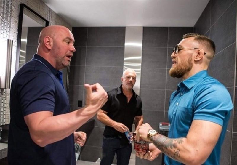 پیشنهاد رئیس UFC برای بازگشت مک گرگور به میدان در سال 2021