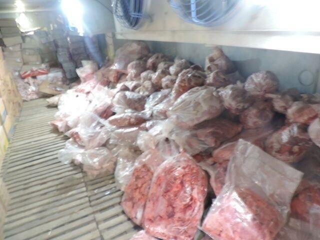 خبرنگاران 90 تن گوشت فاسد در تهران کشف شد
