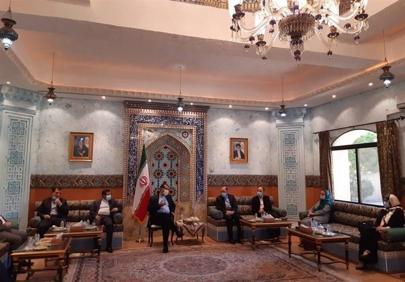 پزشکان ایرانی مقیم عمان با سفیر ایران در مسقط ملاقات کردند