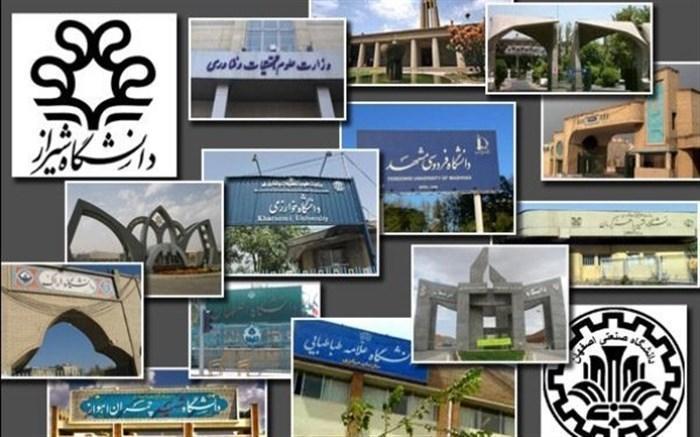 31 دانشگاه ایرانی در میان موسسات علمی برتر دنیا قرار گرفتند