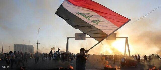 درگیری میان تظاهرکنندگان و نیروهای امنیتی عراق در دومین روز اعتراضات در بغداد