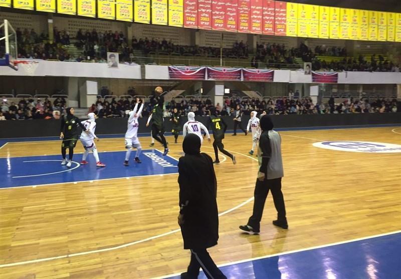 لیگ برتر بسکتبال بانوان، مهرام، پیروز ملاقات مهم هفته
