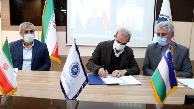 تفاهم نامه تشکیل کمیته مشترک بازرگانی ایران و ازبکستان امضا شد