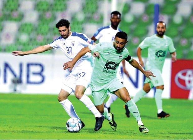 برد پرگل القطر با علی کریمی در یک بازی با 4 پنالتی، شجاع روی نیمکت