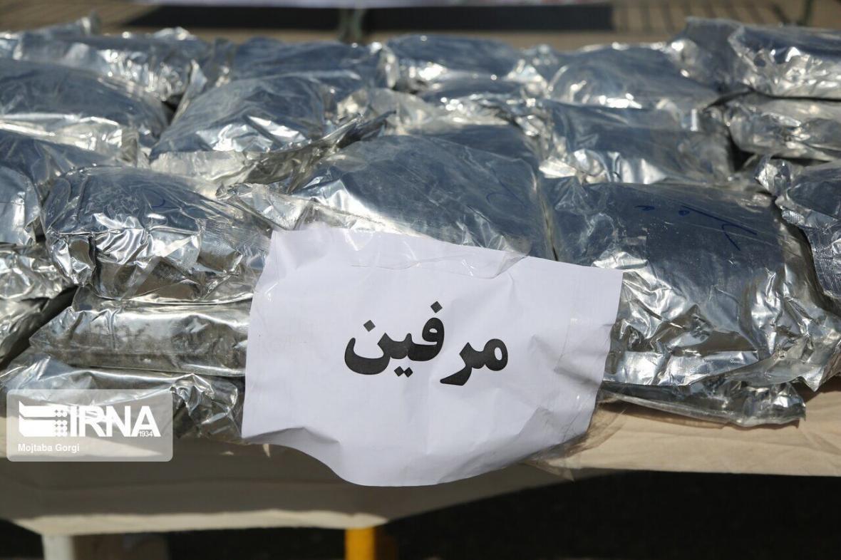 خبرنگاران بونکر سیمان با بیش از یک تن مرفین در شیراز توقیف شد
