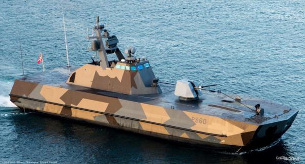 Skjold؛ ناوچه سبک نیروی دریایی سلطنتی نروژ
