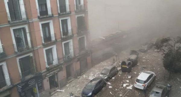 انفجار در پایتخت اسپانیا