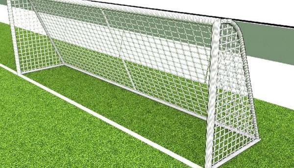 مشخصات و اندازه دروازه فوتبال چمنی را می دانید؟