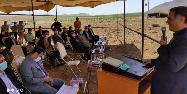 احداث اولین شهرک تخصصی بادام درشهرستان سامان کلنگ خورد