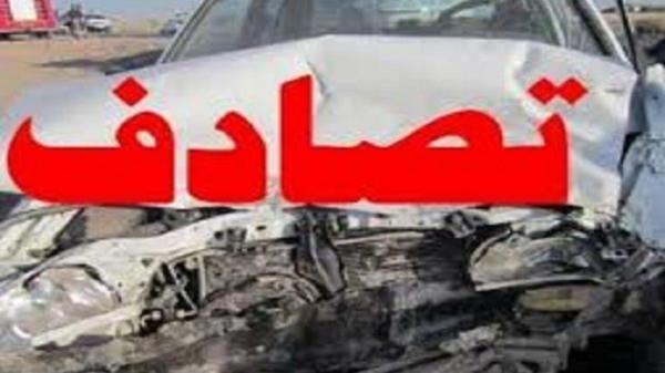 9 مصدوم در حادثه رانندگی در تاکستان