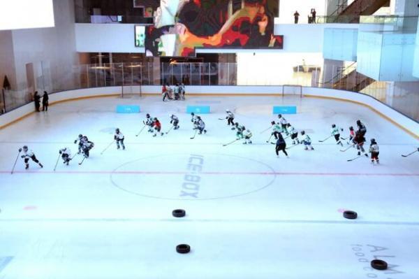 تست فنی تیم ملی هاکی روی یخ بانوان برای حضور در کاپ آسیا